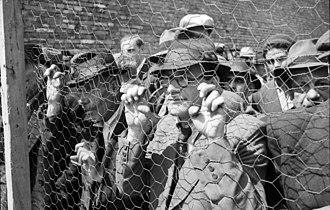 The Holocaust in Serbia - Jews in Belgrade in 1941.