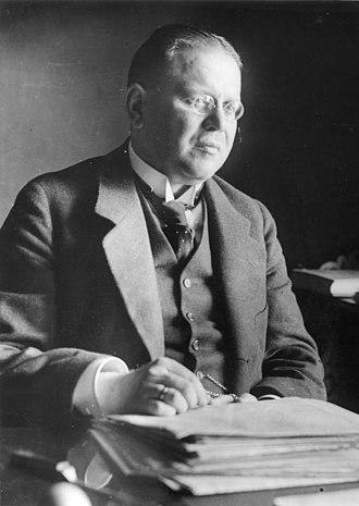 Matthias Erzberger - Erzberger in 1919
