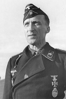 Walther von Hünersdorff German general during World War II