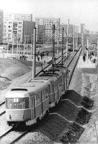 Straßenbahn Schwerin Liniennetz