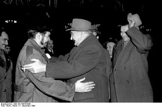 Heinrich Rau - Heinrich Rau (right) with Che Guevara, 1960 in East Berlin