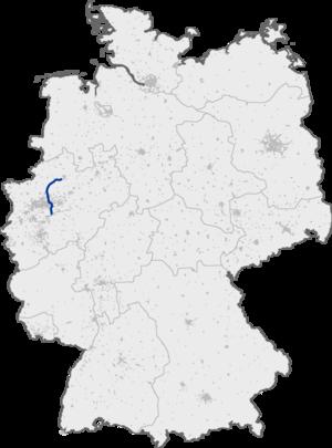 Bundesautobahn 43 - Image: Bundesautobahn 43 map