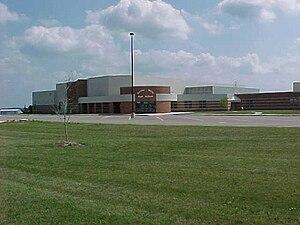 Bureau Valley High School - Image: Bureau Valley High School Front Entrance