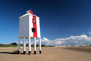 Burnham-on-Sea Low lighthouse - Burnham-on-Sea Low Lighthouse