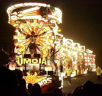 "West Country Carnival - ""Umoja"" by Vagabonds CC, Burnham on Sea Carnival 2006"