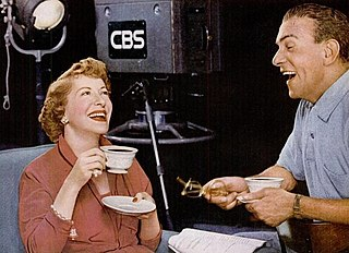 A Life magazine advertisement for the Pan-American Coffee Bureau featuring George Burns and Gracie Allen, 1953.