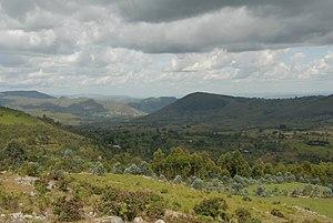 Cuisine of Burundi - Image: Burundi landscape