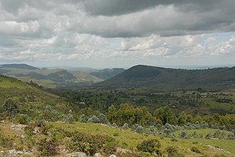 Burundian cuisine - Image: Burundi landscape
