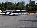 Bus depot, Setra buses, Kazinczy street, Keszthely, 2016 Hungary.jpg