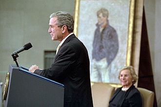 Robert F. Kennedy Department of Justice Building - President George W. Bush renames Justice Department building in honor of Robert Kennedy