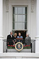 Bush family on balcony.jpg