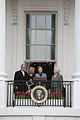 Bush family on balcony.jpg