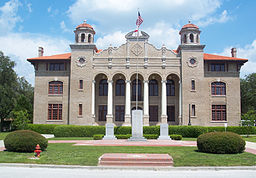 Sumter Countys domstolhus i Bushnell.