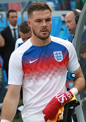 Jack Butland - Butland with England at the 2018 World Cup