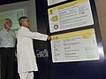 """C.P. Joshi unveils the """"SCOSTA"""" complaint unified design of smart card based DLs & RCs at the inauguration of the """"National Register & National Transport Portal"""", in New Delhi on July 20, 2011.jpg"""