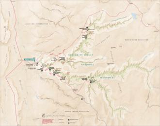 Defiance Plateau - Image: CAC Hmap 1 relief