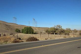 California Historical Landmarks in San Joaquin County, California - Image: CA Historical Landmark 755 Corral Hollow Tracy CA
