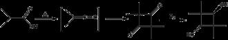2,2,4,4-Tetramethyl-1,3-cyclobutanediol - Image: CBDO Reaction Scheme