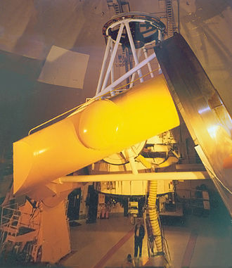 Canada–France–Hawaii Telescope - The telescope in August 2002
