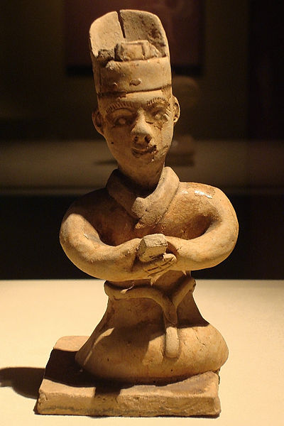 File:CMOC Treasures of Ancient China exhibit - figure of a senior clerk.jpg