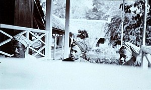 Baduy people - Delegates of the Baduy people, circa 1915-1926.
