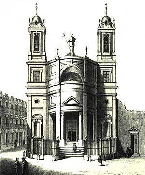 Convento de San Norberto - Convento de San Norberto. Engraving of 1861.