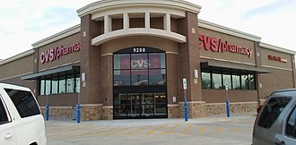 CVS Pharmacy - A newer concept of a CVS/Pharmacy store in North Richland Hills, Texas, that opened in February 2016.