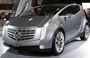 Cadillac Urban Luxury Concept - Image: Cadillac ULC concept 2011 DC