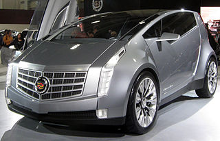 Cadillac Urban Luxury Concept Motor vehicle