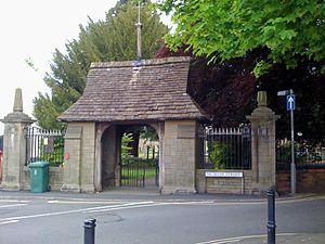 St Cadoc's Church, Caerleon - The lychgate