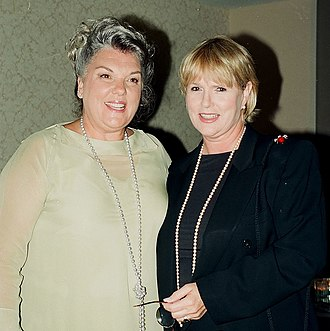 Cagney & Lacey - Daly and Gless in 1999