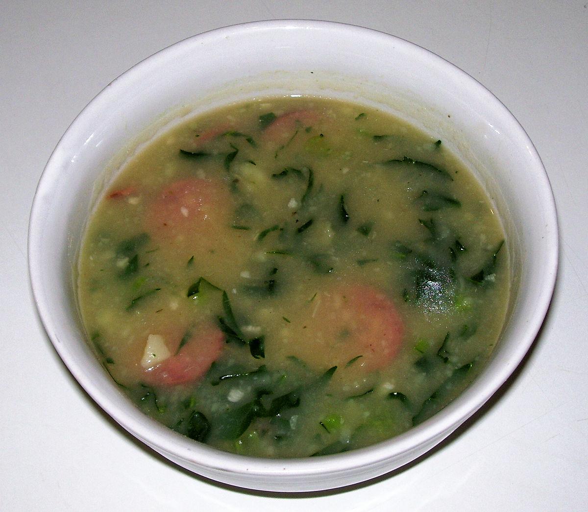 Caldo verde wikip dia for Cuisine wikipedia