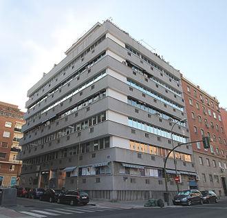 Aviaco - Image: Calle de Maudes 51 (Madrid) 01