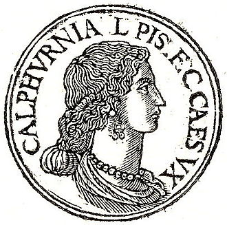Calpurnia (wife of Caesar) - Calpurnia from the 16th-century Promptuarii Iconum Insigniorum