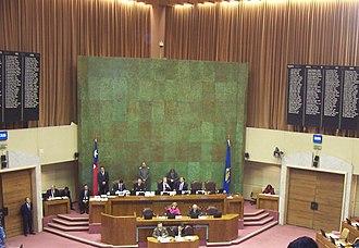 Chamber of Deputies of Chile - Image: Camara diputados chile