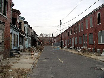 English: Camden, New Jersey is one of the poor...