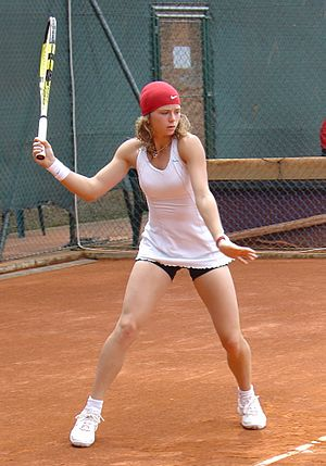 Camila Giorgi - Giorgi at the 2008 Internazionali BNL d'Italia in Rome