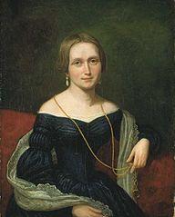 Portrait of Camilla Collett, born Wergeland
