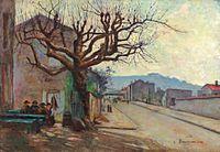 Camille Bouvagne, Le Bistrot, oil on canvas, 40 x 55 cm.jpg