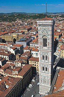 Giottos Campanile Bell tower in Florence