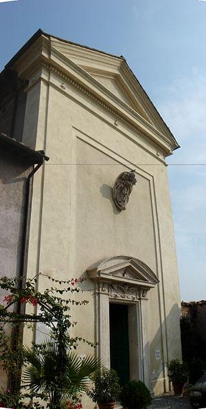 San Sebastiano al Palatino - Image: Campitelli san Sebastiano al Palatino facciata 01620 1