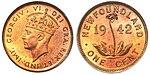 Canada Newfoundland George VI 1 Cent 1942.jpg
