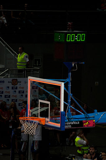End of a match as the shot clock shows no time left Canasta y tablero - 0.00.jpg