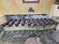Cannons displayed at warangal Museum.jpg