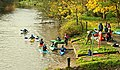 Canoes, Shaw's Bridge, Belfast (1) - geograph.org.uk - 1039204.jpg