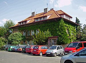 Karel Čapek - House of Čapek brothers in Prague 10, Vinohrady