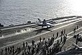 Capt. Samuel Paparo launches from the flight deck of the Nimitz-class aircraft carrier USS Dwight D. Eisenhower.jpg