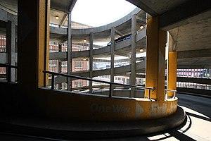 Busch stadium exit ramp for Nomenclature icpe garage automobile