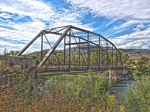 National Register of Historic Places listings in Park County, Montana - Image: Carbella Bridge