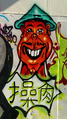 Caricature of an Oriental man, Groningen (2020) Cropped.png